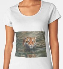 Tiger Swimming Women's Premium T-Shirt