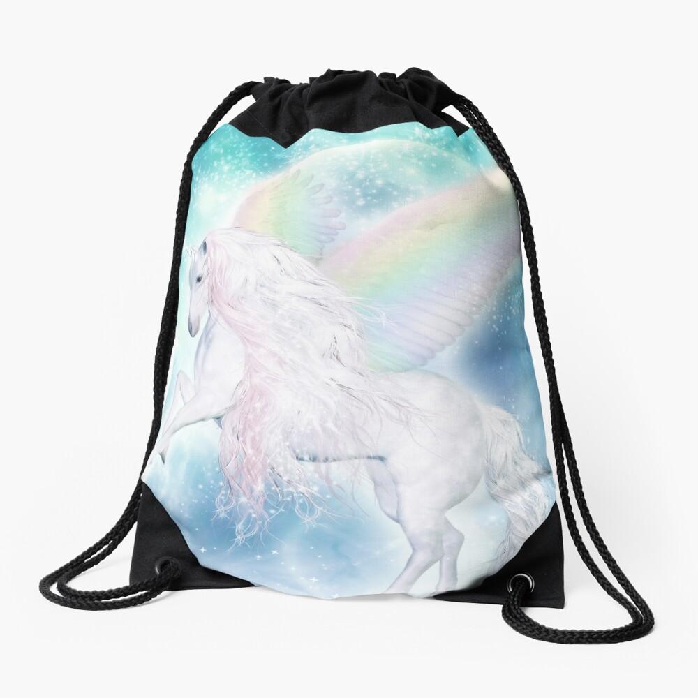 Rainbow Pegasus Turnbeutel