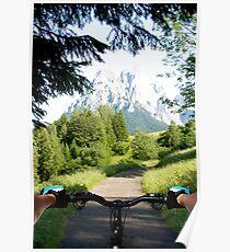 Mountain bike 2 Poster