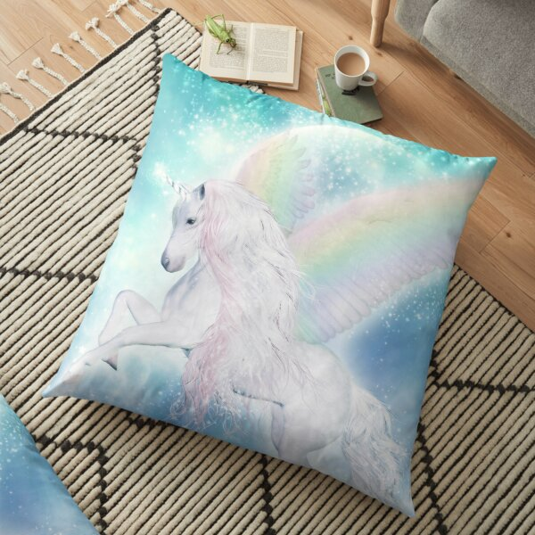 Pillow with name Jasmine Motif Was A Unicorn