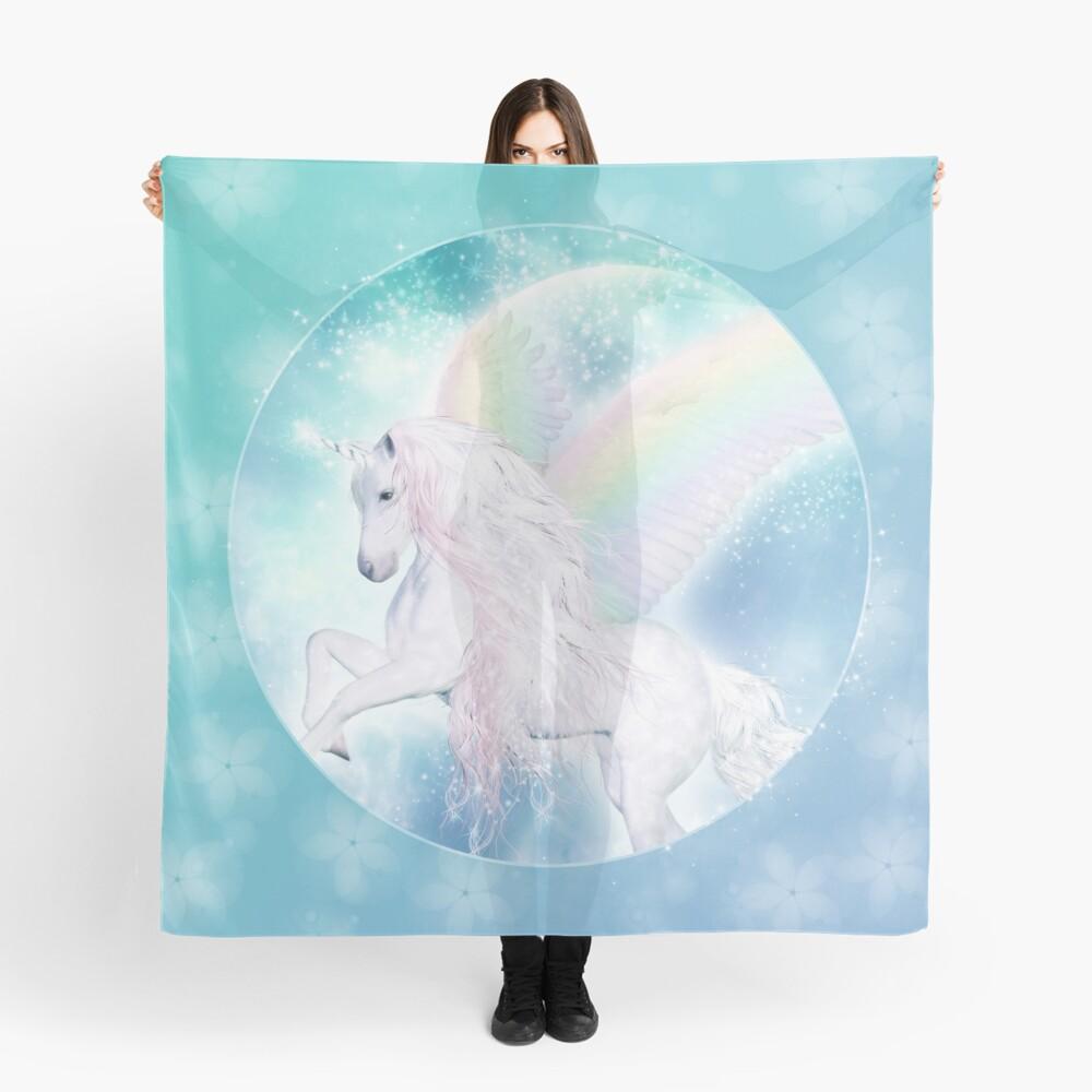 Rainbow Pegasus Tuch
