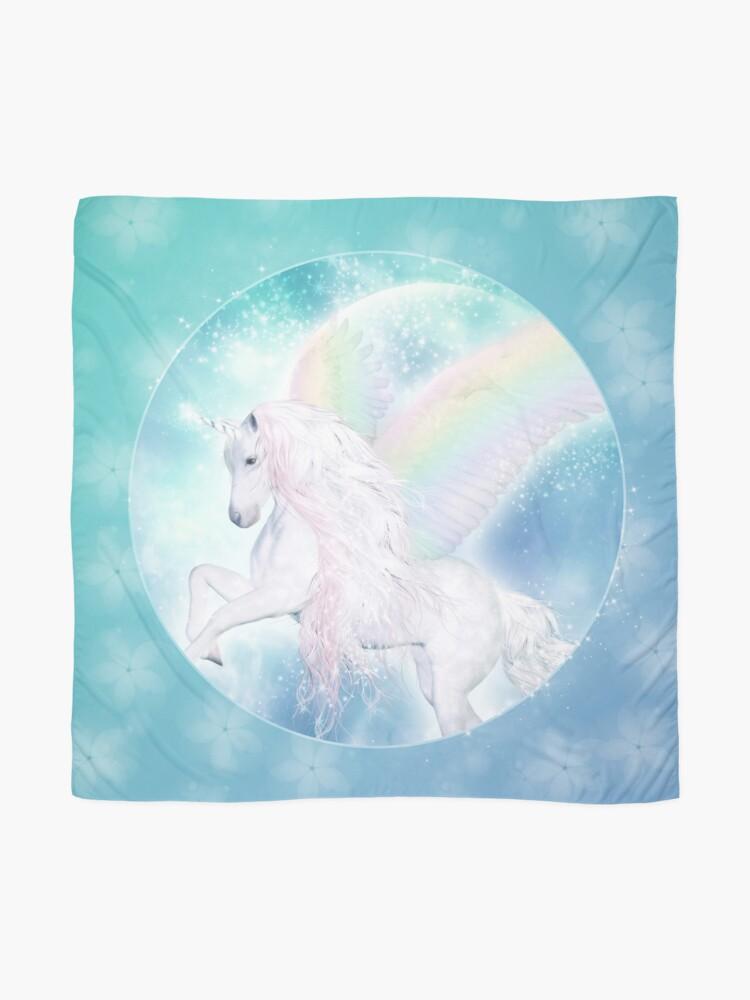 Alternative Ansicht von Rainbow Pegasus Tuch