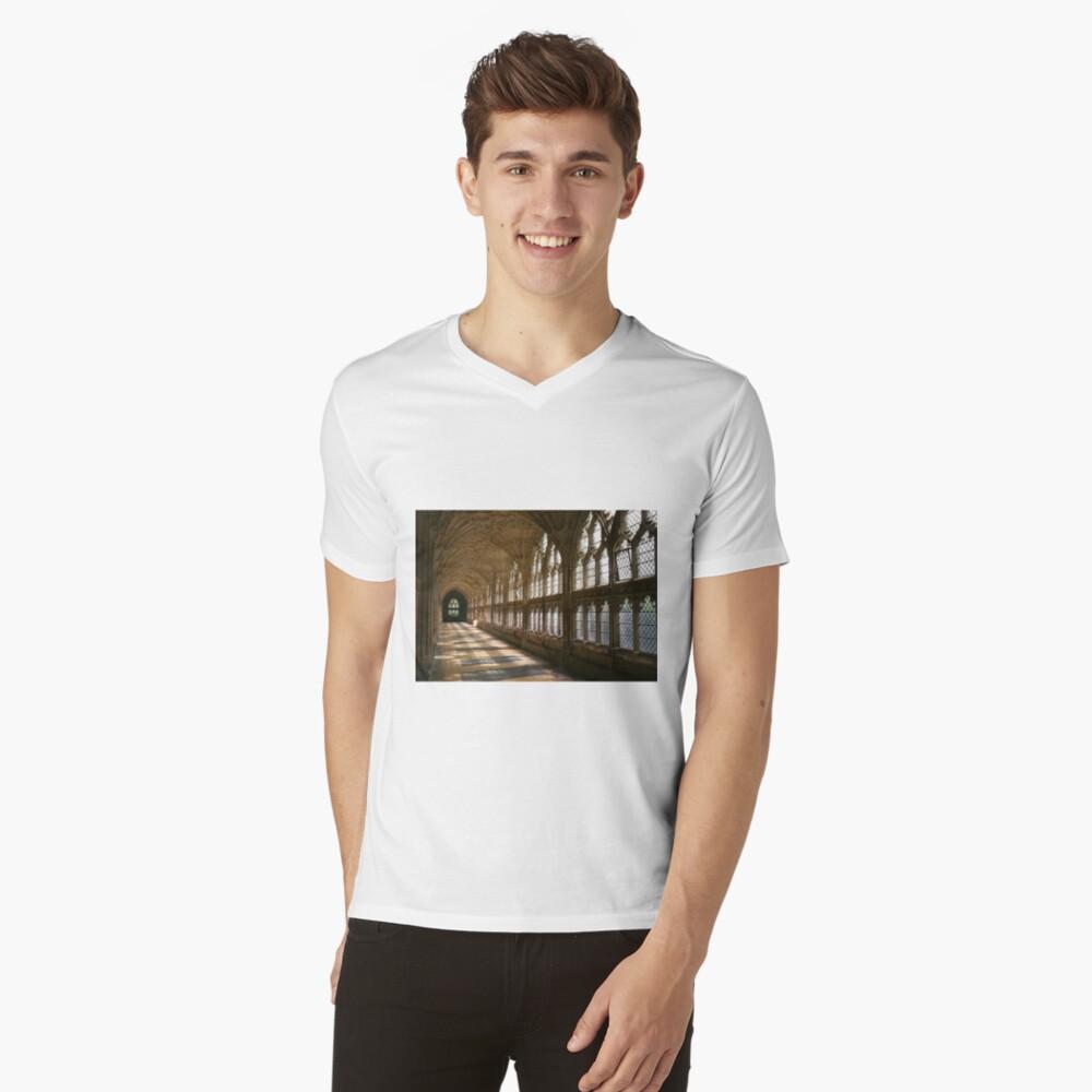 Cloister Shadows V-Neck T-Shirt