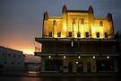 Evening Glow ~ Innisfail Shire Hall by Kerryn Madsen-Pietsch