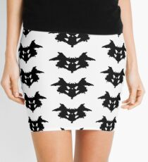 Rorschach Inkblot Mini Skirt