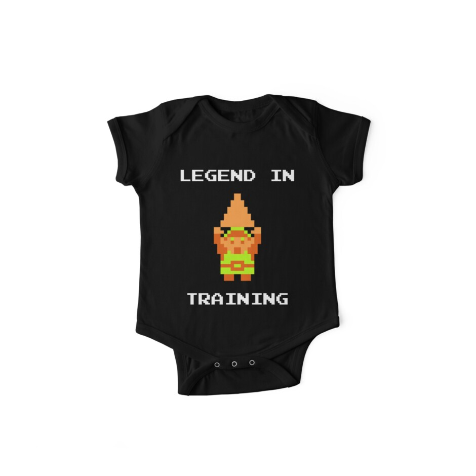 """Legend in Training"" Zelda inspired onesie by orion981"