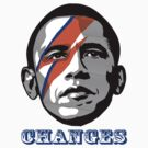 OBAMA CHANGE T-SHIRT  by cuddlemachine