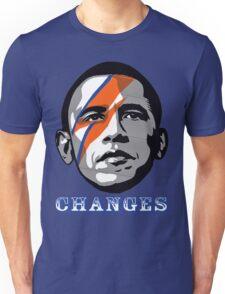 OBAMA CHANGE T-SHIRT  Unisex T-Shirt