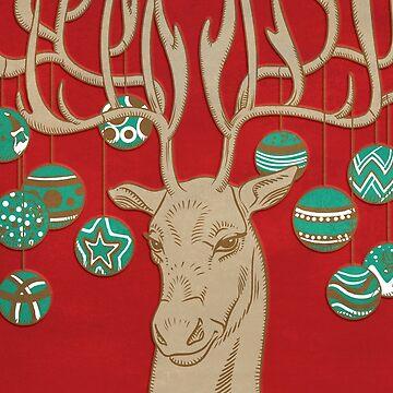 Fabulous Rudolph by ikerpazstudio