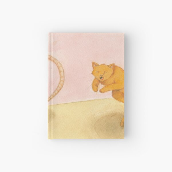 Let's play Cat and Mouse! Hardcover Journal
