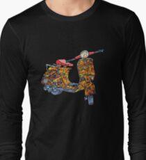Vespa scooter Jackson Pollock  T-Shirt