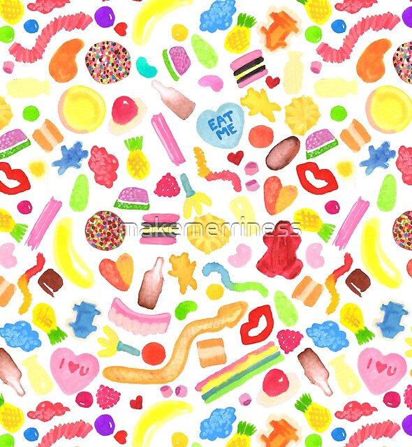 Mixed Lollies by makemerriness