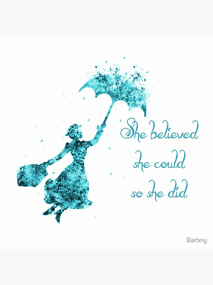 She believed she could so she did. by Barbny