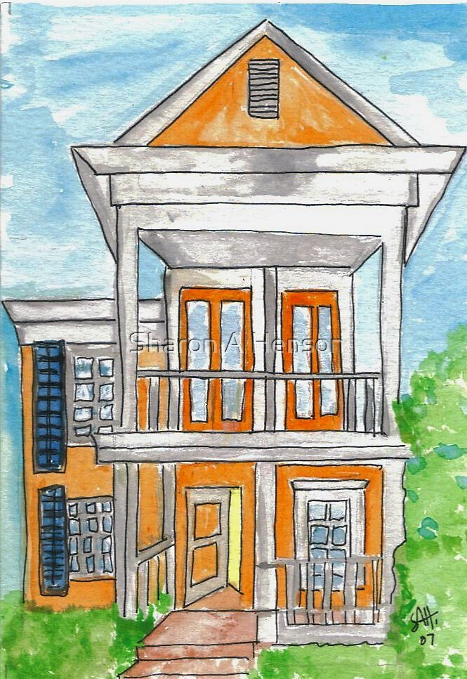 THE ORANGE HOUSE by Sharon A. Henson