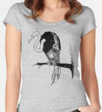 Crooked Women's Fitted Scoop T-Shirt