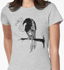 Crooked Women's Fitted T-Shirt