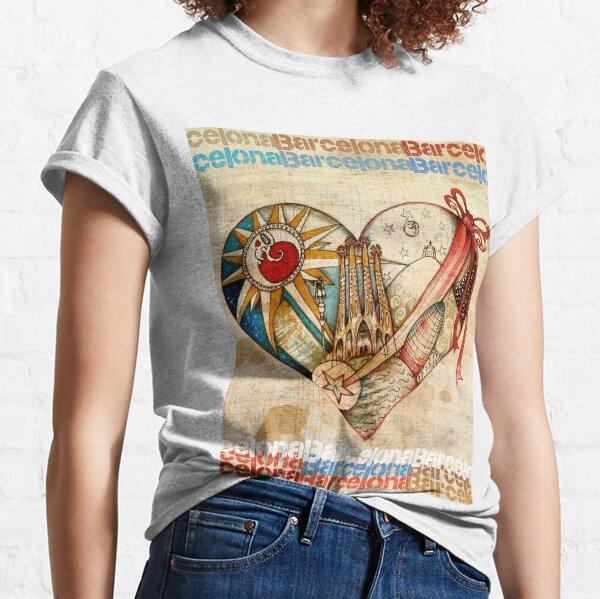 Barcelona Spirit - Vintage Camiseta clásica