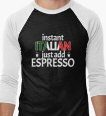 Funny Espresso Lover Instant Italian Caffeine T-Shirt