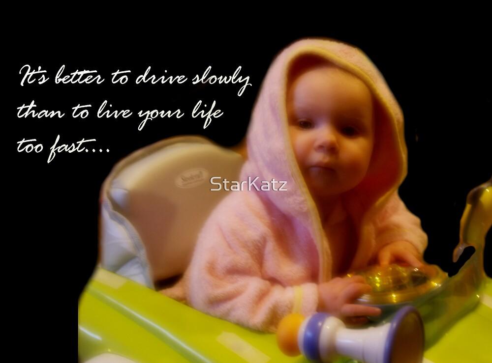 Drive Slowly by StarKatz