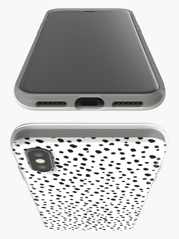 Alternate view of Black Dots by Minikuosi iPhone Case & Cover