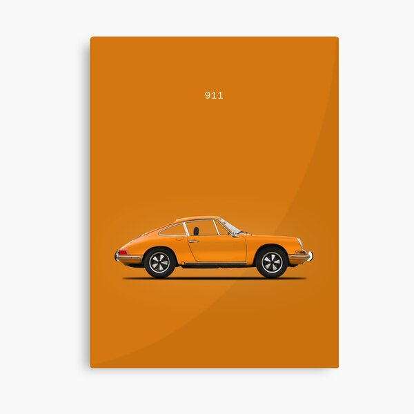 The 68 911 Canvas Print