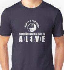 Schrodingers Cat Dead Alive Nerd Gift Unisex T-Shirt