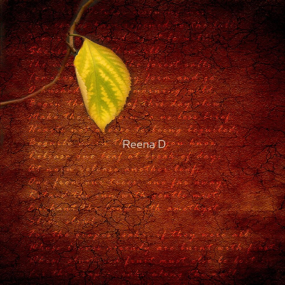 October by Reena D