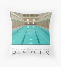 Lido Poster Amiraux Throw Pillow