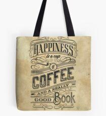 Happiness = Coffee Tote Bag