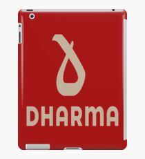 Dharma Records iPad Case/Skin