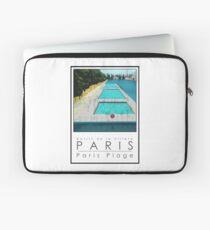 Lido Poster Paris Plage Laptop Sleeve