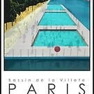 Lido Poster Paris Plage by Steven House