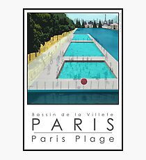 Lido Poster Paris Plage Photographic Print