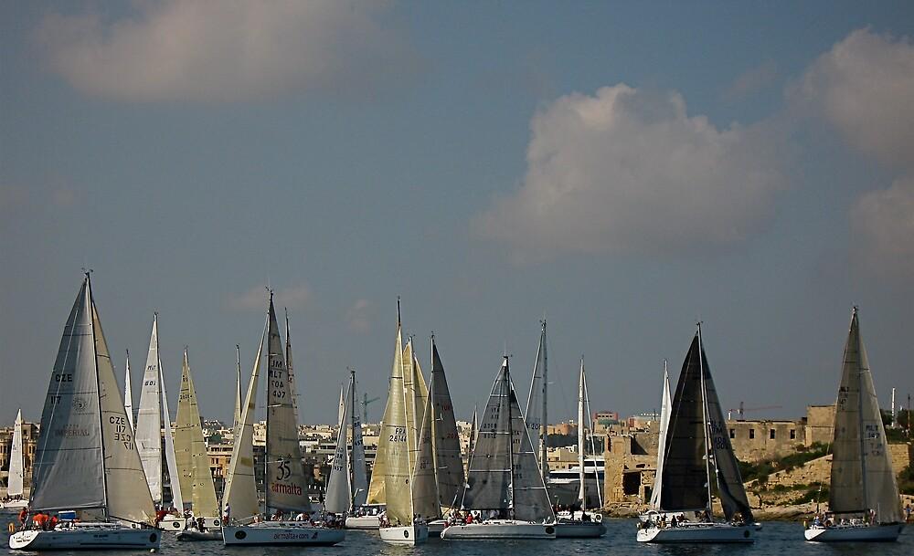 Middle Sea Race Malta 2008 (2) by Francesca Rizzo