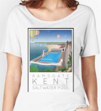 Lido Poster Ramsgate Women's Relaxed Fit T-Shirt