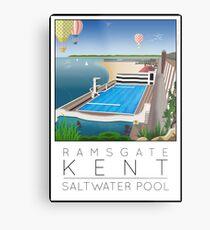 Lido Poster Ramsgate Metal Print