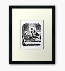 Victorian Bullet Time. Framed Print