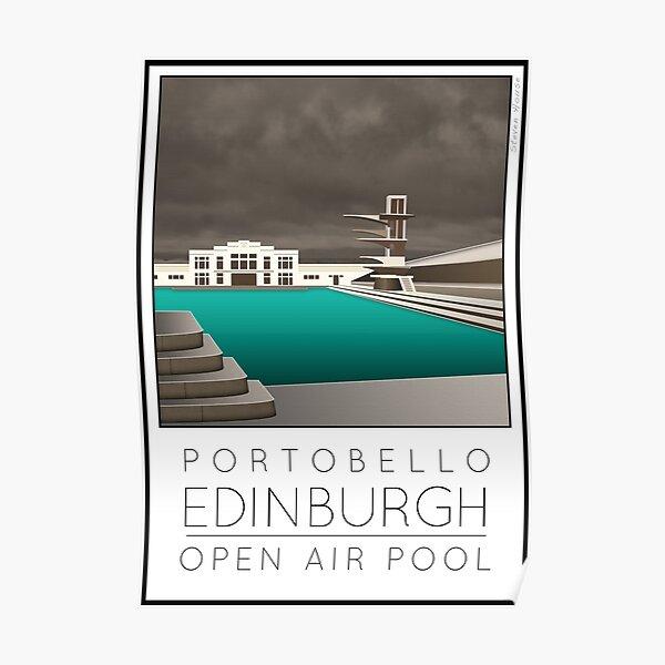 Lido Poster Edinburgh Portobello Poster