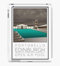 Lido Poster Edinburgh Portobello iPad Case/Skin