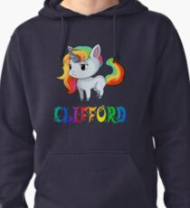 Clifford Unicorn Pullover Hoodie