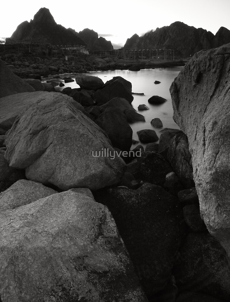 Rocks by Willy Vendeville