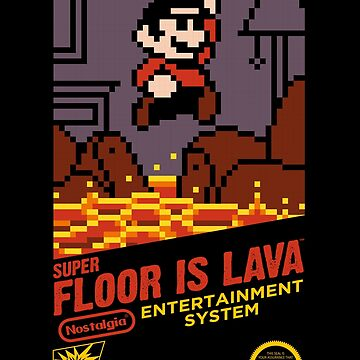 Super Floor is Lava by spike00