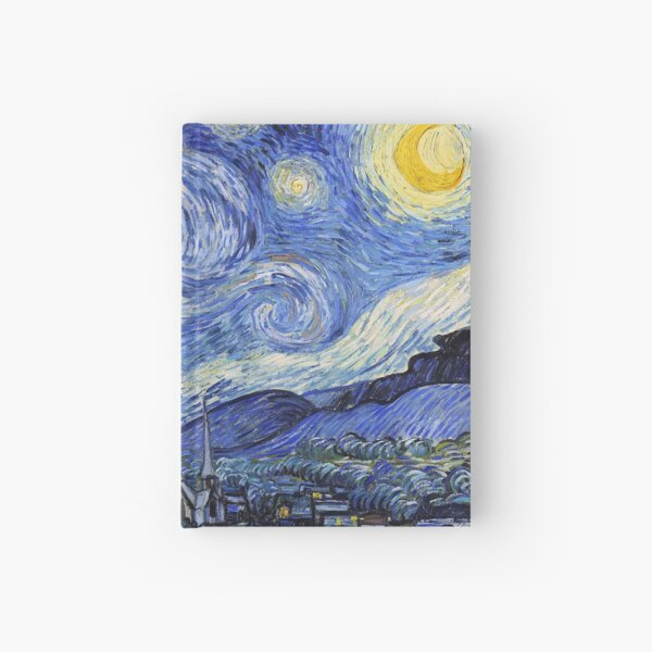 Starry Night Gifts - Vincent Van Gogh Classic Masterpiece Painting Gift Ideas for Art Lovers of Fine Classical Artwork from Artist Hardcover Journal
