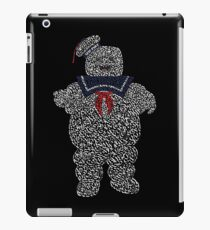 """The Stay Puft Marshmallow Man in """"Ghostbusters"""" the Movie iPad Case/Skin"""