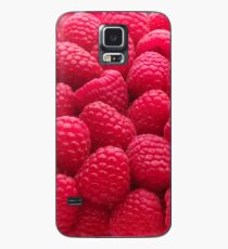 Raspberry Red Case/Skin for Samsung Galaxy