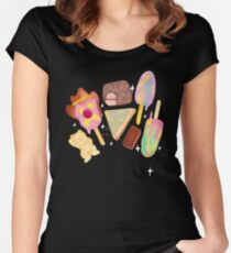 Aussie Treats - Cosmic Women's Fitted Scoop T-Shirt