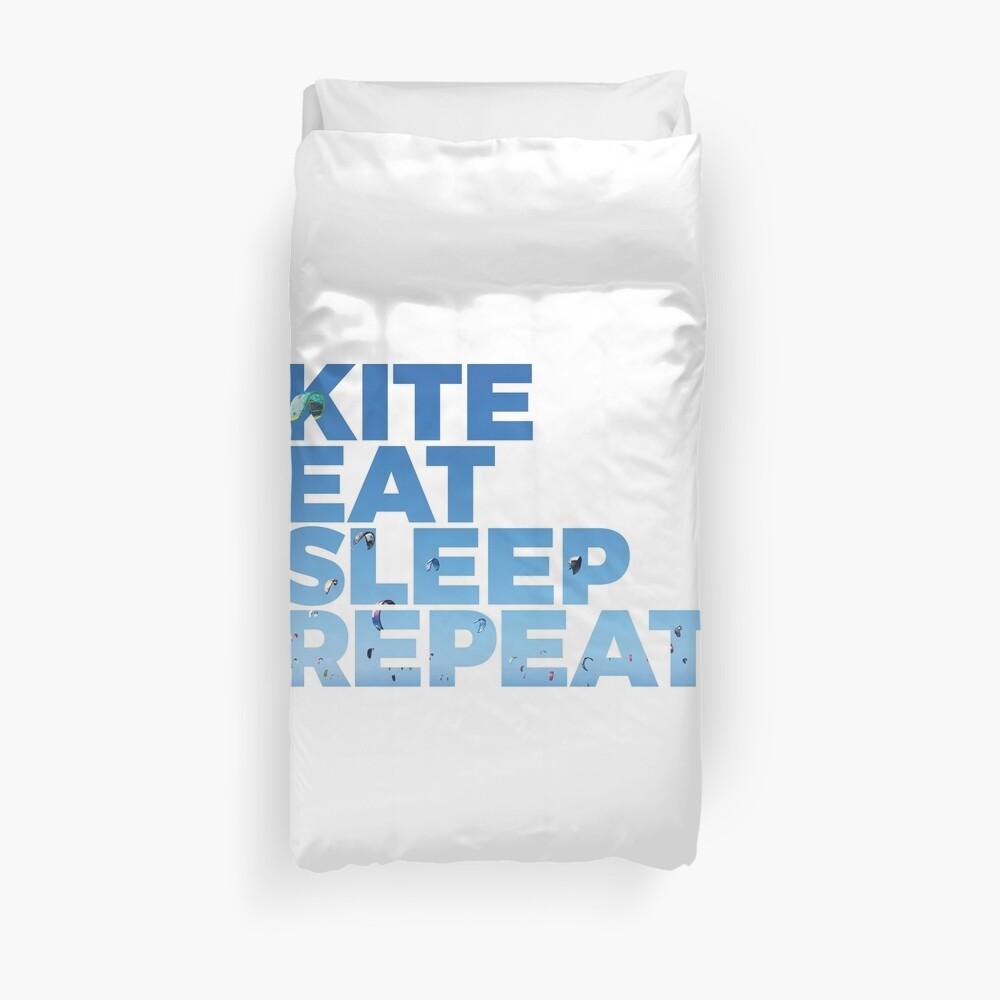 Kite, Eat, Sleep, Repeat Bettbezug