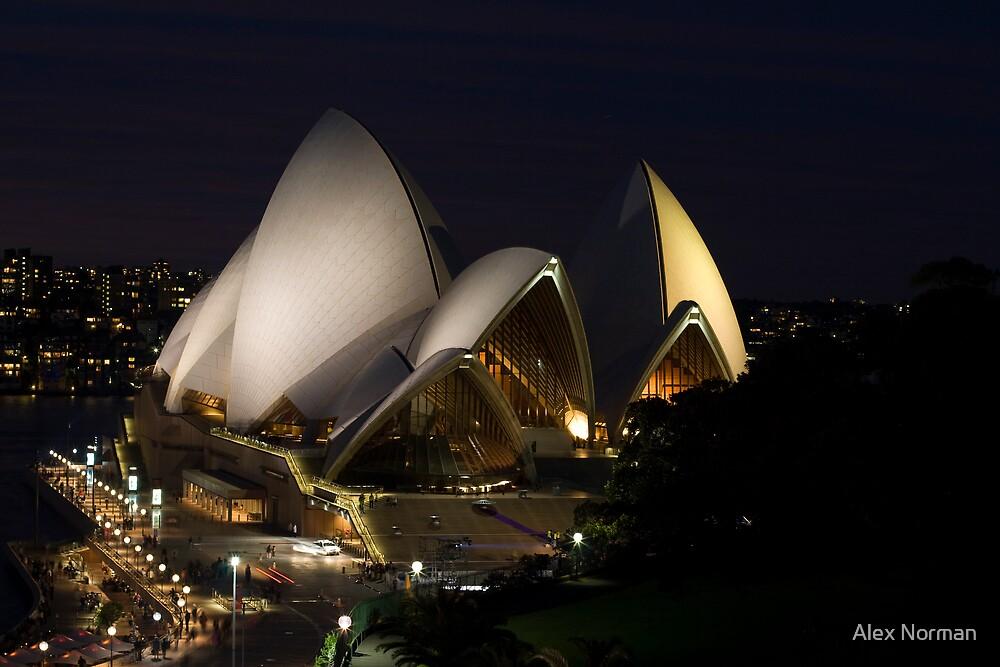 Opera House Evening II by Alex Norman