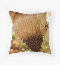 End of Season Thistle Throw Pillow