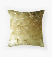 A Gathering of Baby Seeds Throw Pillow